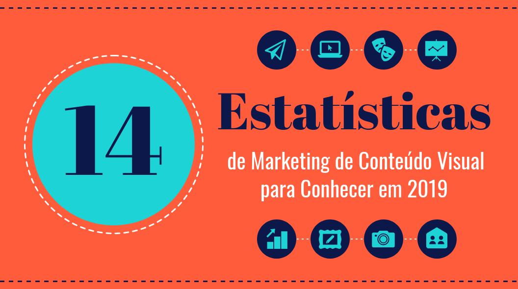 Estatísticas de Marketing de Conteúdo Visual