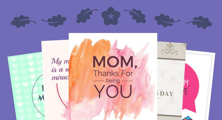 Modelos de cartão Dia das Mães