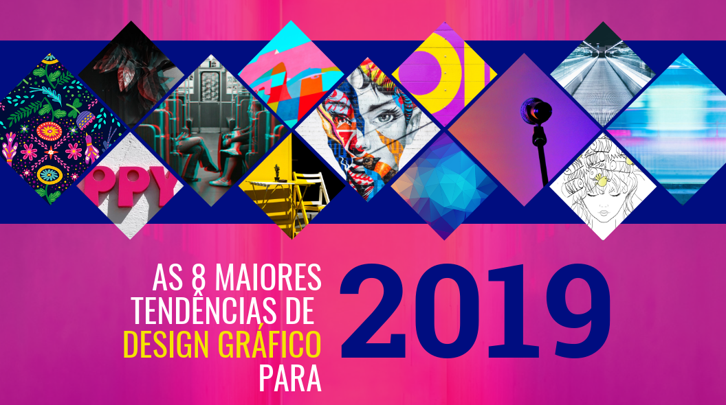 tendencias de design grafico para 2019