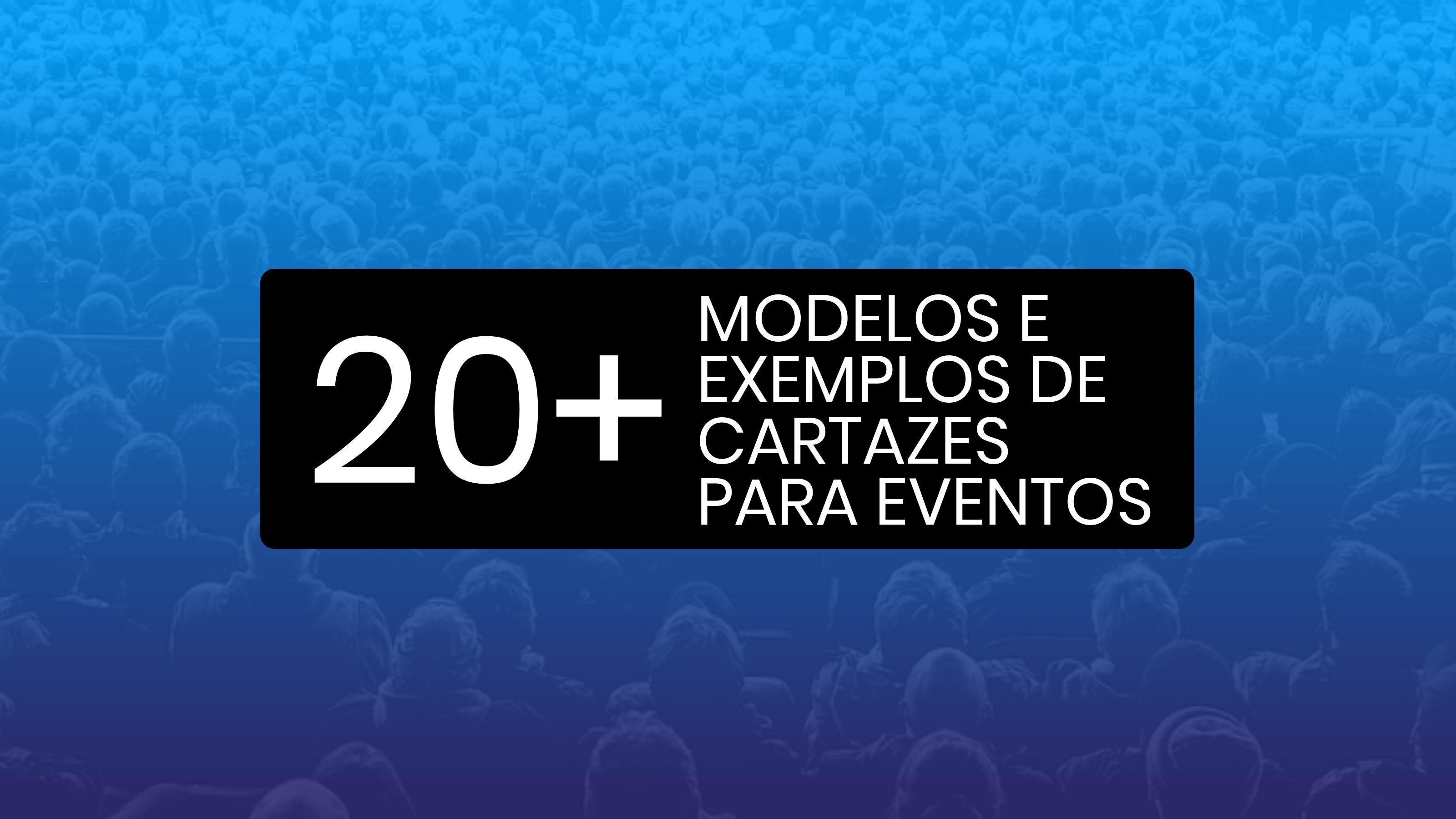 Mais de 20 exemplos de modelo de cartaz de eventos, fundos e dicas de design para chamar a atenção