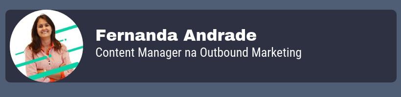 Fernanda Andrade especialista