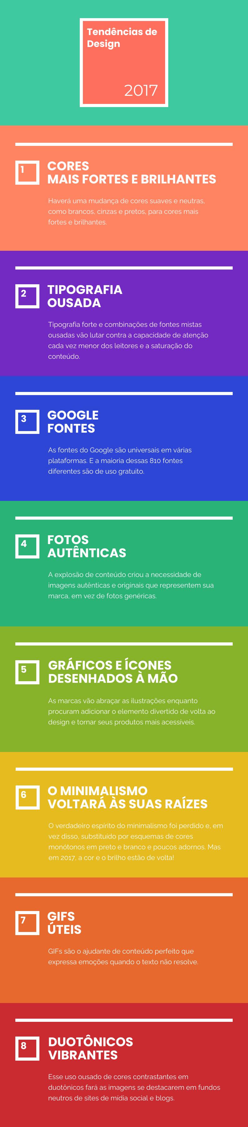 tendências de design gráfico em 2017