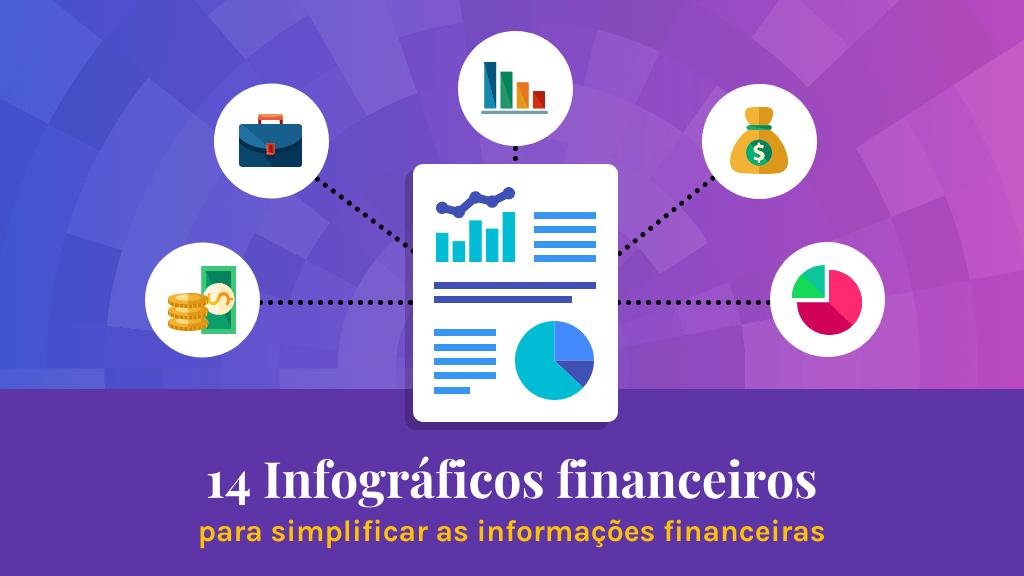infográficos financeiros